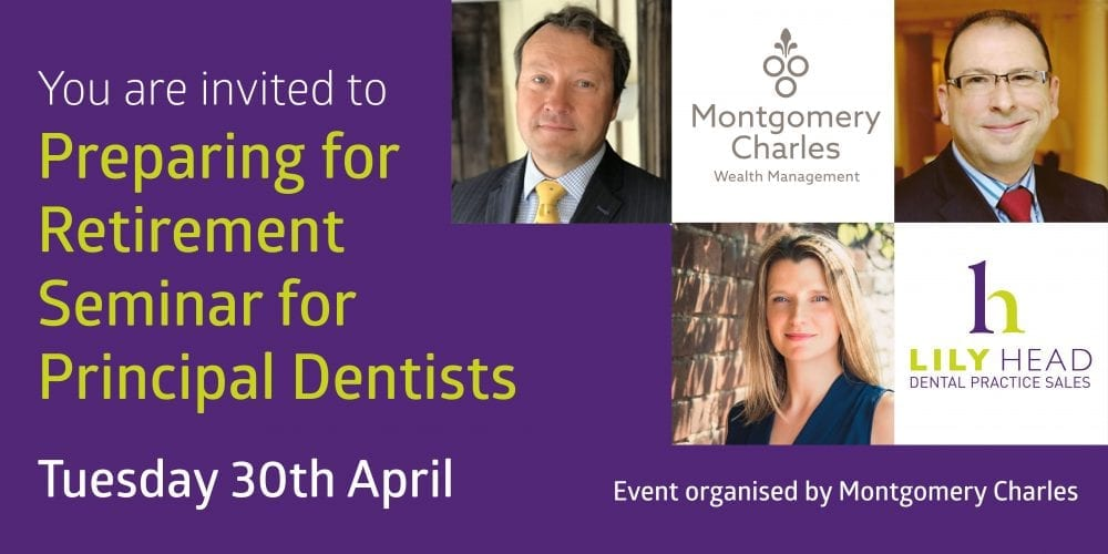 Preparing for Retirement Seminar for dental principals - Lily Head Dental Practice Sales