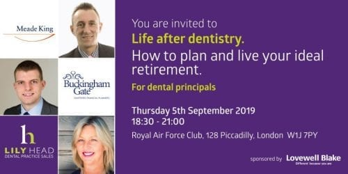 Life After Dentistry - LLily Head Dental Practice Sales