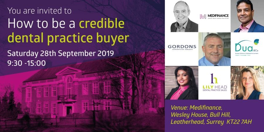 How to be a credible dental practice buyer - Lily Head Dental Practice Sales