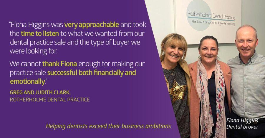 Dr Greg Clark sells Rotherholme DP to Dr Amrik Atwal - Lily Head Dental Practice Sales